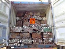 Pressed Galvanized Iron Sheet Steel Scrap Bundles