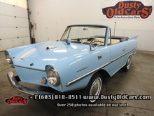 1967 Amphicar 770 All Orig 1 Owner, Never Restored Excel Condition - See more at: www.dustyoldcars.com