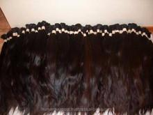 Nonprocessed brazilian virgin remy human hair bulk/chinese remy hair bulk