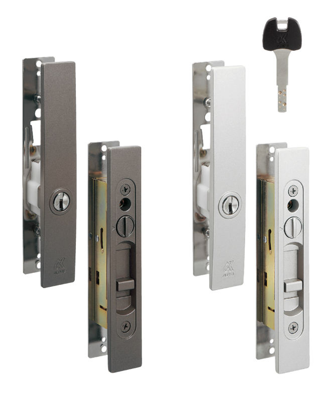 High quality sliding door lock by japanese famous lock for Sliding door types