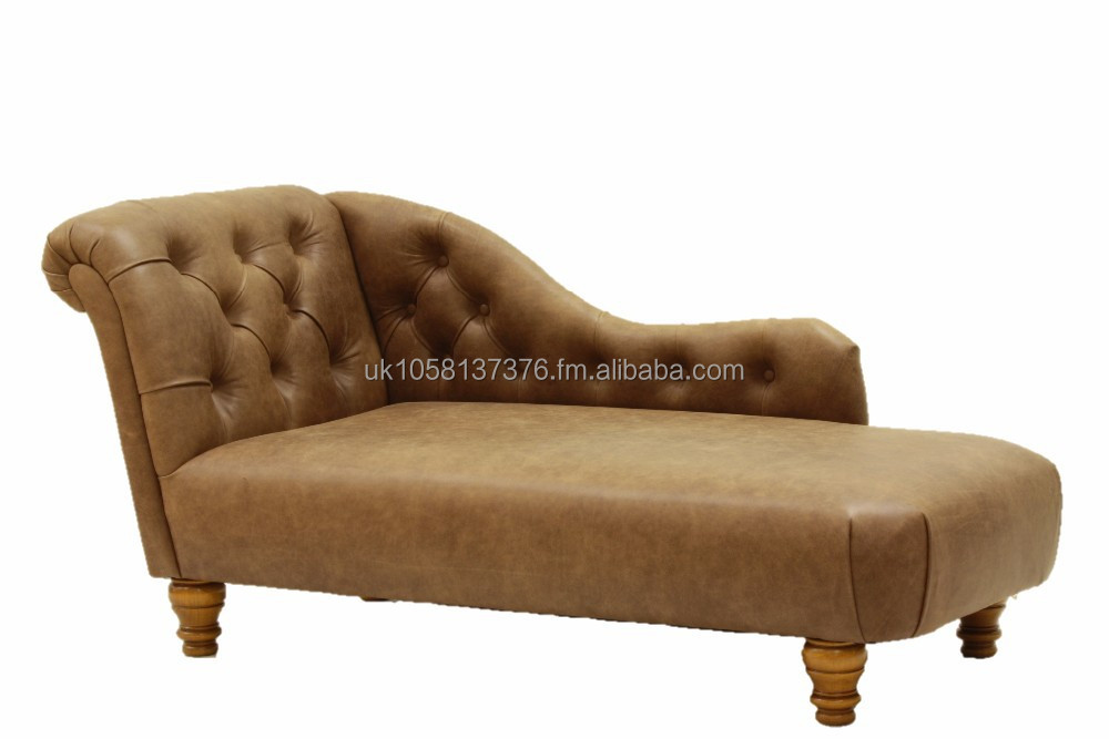 chaise longue large 100 genuine leather made in great britain buy chaise longue classic. Black Bedroom Furniture Sets. Home Design Ideas
