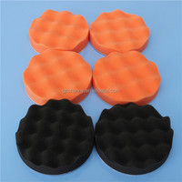 Hot Sale High Quality 8pcs 5 inch Buffing Pad Sponge Kit For Polishing Auto Car + M14 Drill Adapter
