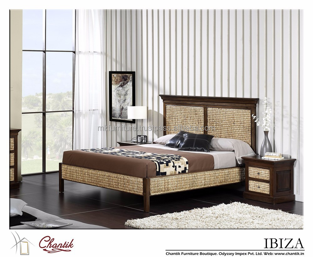 classic bedroom set single bed wicker bedroom furniture