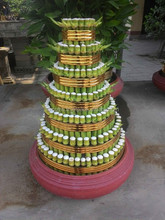Wholesale lucky bamboo 7 layer from traditional crafts village Vietnam (Dracaena Sanderiana)
