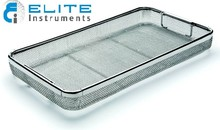 Mesh Tray With Drop Handle