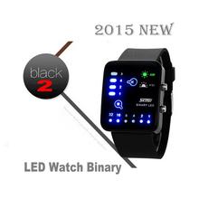 (NICE GIFT) 2015 Woman KIDS LED Binary Watches Fashion Causal Watch Electronic Watch nice gift (High Tech)