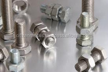 ASTM A453 GR660 hexbolts and nuts
