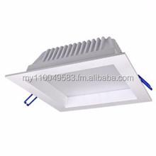 LLT 12W Square LED Downlight Warm White