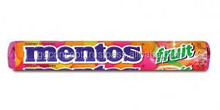 Mentos Fruit Candy (16rolls/box)/ Fruit candy/ Confectionery