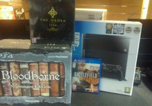Sale for Sony Playstation 4 bundle Pack + games + 2 extra controller, free shipping , new , original