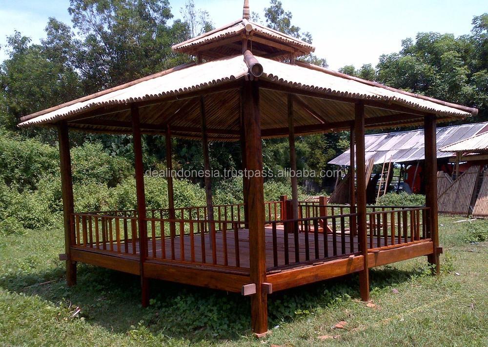 Bambou gazebo