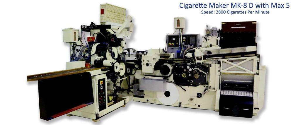 Mesin Pembuat Rokok Dengan