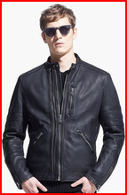 Custom Made Men Leather Jacket