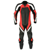 Ladies Leather Motorcycle One Piece Racing Suits