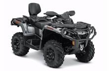 2015 Can-Am Outlander MAX XT 1000 - Brushed Aluminum ATV