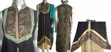Pakistani Latest Designs of Ladies Readymade Boutique Style Embroidered Lenin Dresses, long length dresses for ladies