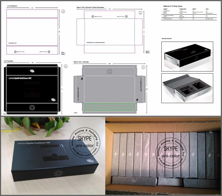 High-end Custom Cosmetics Rigid Paper Cardboard Packaging ...