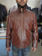 Winter leather jacket for men men winter leather jacket