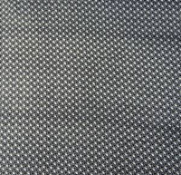 100 % Cotton Black 51 Wide Designer Heart Printed Cotton Fabric By The Yard FBC6394