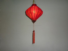 Asian traditional weeding unique shape silk lantern, outdoor creative product