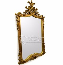 Antique wooden framed mirror, wall mirror,decoration mirror