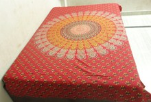 KTBS-52 Printed Tapestry Indian Traditional new bed sheet designs whole sale Cotton bed sheets Jaipur