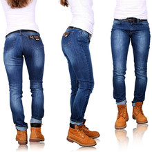Las mujeres de mezclilla pantalones vaqueros slim fit d' sema de moda 002 turco b2b fabricados de alta