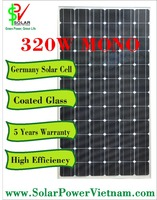 320W Mono solar panel - Germany Solar Cell - SPV320M