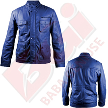 Band collar MENS JACKET CLASSIC DESIGN