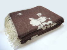 New Zeland wool blanket brand new (2 size) jacquard