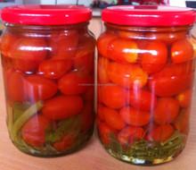Pickled cherry tomato in jar 720ml