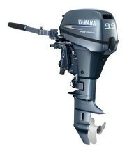 Free shipping for Used Yamaha 9.9 hp 9.9hp Outboard Motor Engine