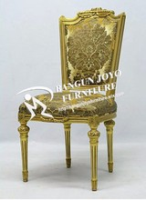 Hot Sale and Cheap and New Design Wooden gold chair