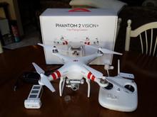 DJI Phantom 2 Vision+ Plus V3 w/ Extra Battery Drone for iPhone Android UAV GPS