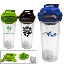 26 oz Juicer Bottle With Shaker Ball - juices fruit directly into your water (less than minimum is available)