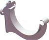 New Material PVC Rain Water Gutter Pipe Clamp Fittings ZAT- NS2789