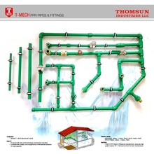 High quality PPR pipe and fittings