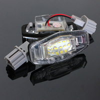 18 LED License Number Plate Lights Lamp for Honda/Accord For Odyssey For Acura For TSX For Civic