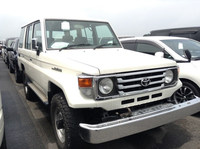 JAPANESE SECONDHAND CAR FOR SALE DIESEL IN JAPAN FOR TOYOTA LAND CRUISER70 LX