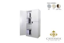 Full Height Cupboard with Steel Swinging Door
