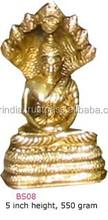 matériau métallique buddhadeva sculpture