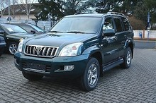 Toyota Land Cruiser 4x4 Off-Road Vehicle - Left Hand Drive - Stock no:11236