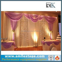 Aluminium Pipe and Drape with Stage Theatrical Backdrop