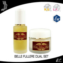 "Fullerene c60, Japanese anti-aging skin care set ""Belle Fullere Dual Series Set"""