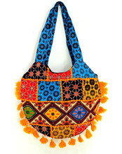 Indian Banjara Handbag - Gypsy Banjara Tote Bag-Patch and kantha handbag-Wholesale kutchi embroidery shoulder bags