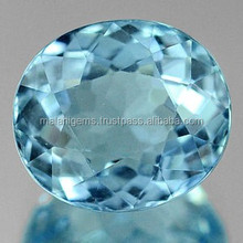 2.71 Ct. Oval Natural Light Blue Aquamarine Unheated gemstone