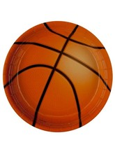 8 pack all star basketball 7 inch plates