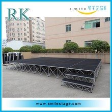 concert portable stage crystal for sale