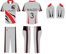Personalized team cricket uniforms