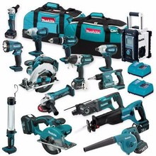 Brand New Makita LXT702 18V LXT Lithium Cordless Drill Impact Driver Saw 7 Tool